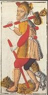 Jacques Viéville's Tarot (17th century) - Héron, France